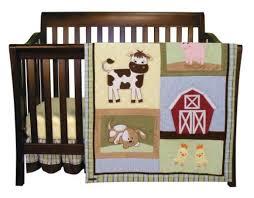 baby barnyard 7 piece nursery crib bedding