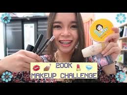 200k 20 makeup challenge bahasa