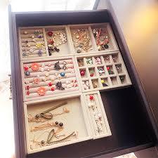 drawer diy jewelry storage tray earring