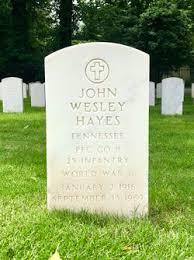 John Wesley Hayes (1916-1969) - Find A Grave Memorial