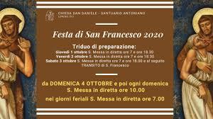 Santa Messa 4 Ottobre - Solennità di San Francesco - YouTube
