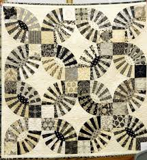 contemporary neutral Pickle Dish quilt by Kathie Smith at Westside ...