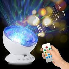 Remote Control Ocean Wave Light Projector 7 Colors Light Built In Music Player For Relaxing Ambiance In Bedroom Living Room Ceiling Kids Room Sale Price Reviews Gearbest Mobile