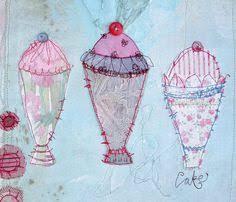 45 Best Priscilla Jones images | Textile art, Fabric art, Free ...