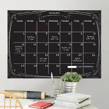 Wallpops Pen And Ink Monthly Calendar Whiteboard Chalkboard Wall Decal Wayfair