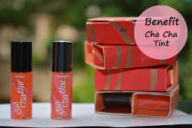 benefit cha cha tint review swatches