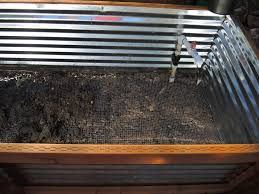 how to galvanized garden beds
