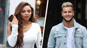 Jesy Nelson and Chris Hughes celebrate one-year anniversary with ...