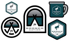 Sticker Pack Wild Free Bronco Nation Gear
