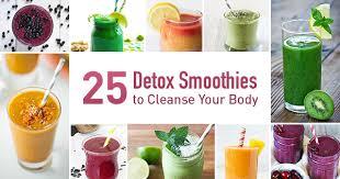 detox smoothies 25 easy recipes to