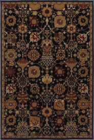 oriental weavers 4520k black area rugs