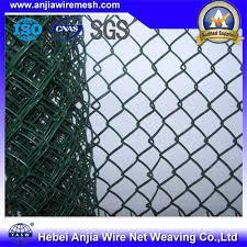 China Green Security Pvc Coated 100 Ft Roll Chain Link Fencing China Chain Link Fence Pvc Coated Chain Link Fence