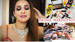 bridal makeup kit you