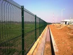 Green Galvanized Iron Anti Climb Mesh Fence Slingshot Security Solutions Private Limited Id 4770577988