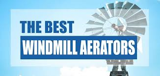 the best windmill pond aerator system