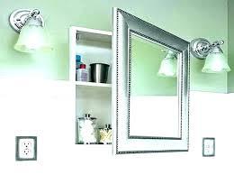 modern medicine cabinet mirror