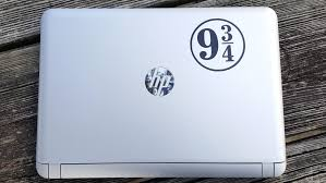 Decal Platform 9 3 4 Hp Laptop Decal Laptop Sticker Phone Decal Phone Sticker Car Sticker Car Decal Window Decal Window Sticker Sold By Stickersforyouall On Storenvy