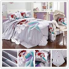 little mermaid bedding set 4pc bed
