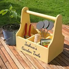personalised garden caddy garden