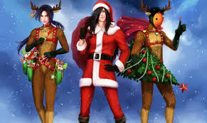 Naruto Holidays Christmas ( New year ) Guys Horns Anime g wallpaper |  3712x2208 | 423320
