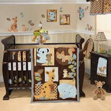 Furniture Bedroom Room Decorating Ideas Sports Decor Ideas For Bedroom 1 Modern Kids Bedroom With Brown Wooden Crib And Cartoon Themes Baby Boy Nursery Decorating Ideas For Nursery Homedesign121