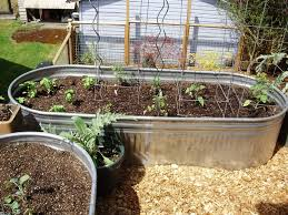 metal planters galvanized raised beds