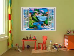 Peter Pan Neverland Disney 3d Window Decal Wall Sticker Home Decor Art Mural Ebay Peter Pan Wall Stickers Baby Room Wall Decals Wall Stickers Home