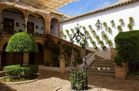 andalucian patio courtyards in