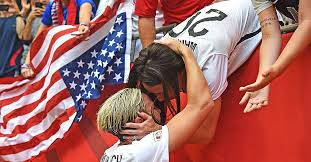 Abby Wambach Kisses Wife After World Cup Win   PEOPLE.com
