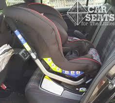rear facing recline angle