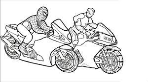 200+ Tranh tô màu xe máy cho bé cá tính mạnh mẽ