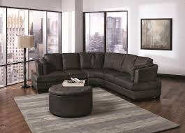 black curved sectional sofa home