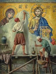 Τα μεγαλειώδη χρυσά ψηφιδωτά της Αγίας... - Ιερό Προσκύνημα ...