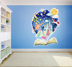Fantasy Storybook Kids Nursery Vinyl Wall Decal Etsy