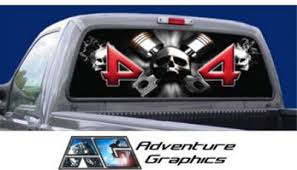 Vehicle Graphics Rear Window Graphics Skull Rear Window Graphic Car Vehicle