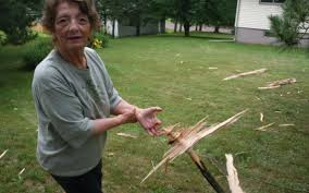 Lightning strike spares Cloquet family   Pine Journal