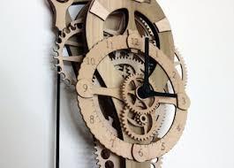 deluxe wood vera clock kit