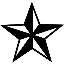 Nautical Star Decal Sticker Nautical Star Decal Thriftysigns