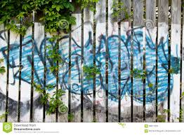 Graffiti On Wooden Fence Stock Image Image Of Colorful 69677229