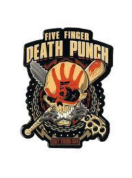 Five Finger Death Punch Got Your Six Sticker