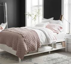 clara lattice storage platform bed