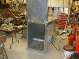 homemade powdercoat oven