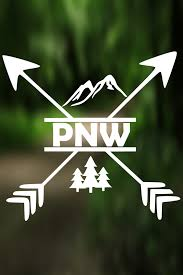 Decal Pacific Northwest Vinyl Decal Car Window Decal Laptop Decal Laptop Sticker Water B Car Decals Vinyl Water Bottle Decal Pacific Northwest Tattoo