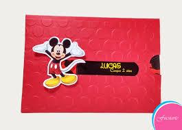 Tarjetas De Invitacion Para Cumpleanos De Mickey Mouse S 70 00