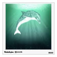 Dolphin Fantasy Wall Decal Zazzle Com
