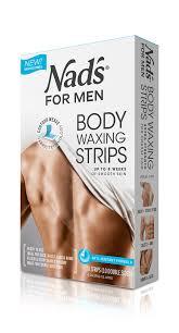 men hair removal body waxing strips