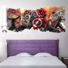 Marvel Avengers Wall Decals The Treasure Thrift