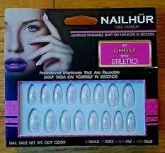 nailhur nail makeup ghost style