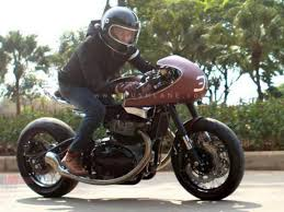 royal enfield gt650 modified as a cafe