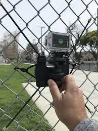Action Camera Gopro Back Stop Fence Mount Lioli Life
